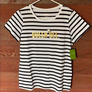 Kate Spade Queen Bee T-Shirt! NWT! SZ small!